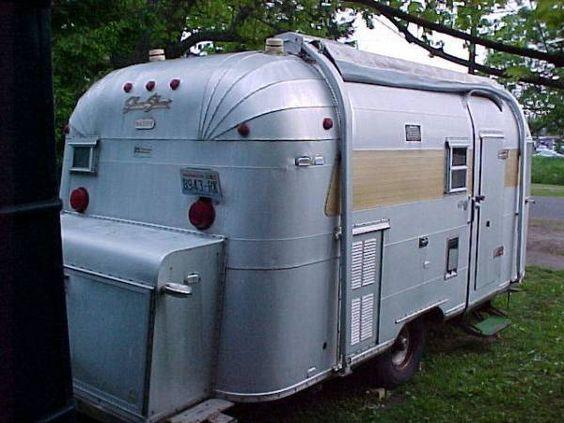 1968 Silver Streal Sabre Vintage Campers Trailers Vintage Travel Trailers Vintage Trailers