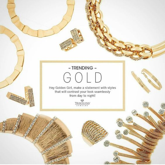 Variety Adds the Perfect Touch to Any Outfit.  #GoldenTouch #JazzItUp #SimplyJustBecause #TLCFashionJewelry www.tracilynnjewelry.net/25388