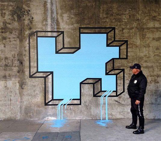 Wall #Graphic #Art. Seguiteci su www.diellegrafica.it e segnalateci immagini e fotografie di Arte Grafica sui muri delle città del mondo
