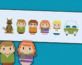 Scooby Doo parody - Cross stitch PDF pattern
