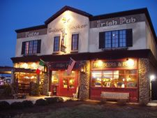 """Galway Hooker Irish Pub...wonderful food & warm atmosphere, in a beautiful pub actually from Ireland (brought piece-by-piece to its current location, close to Lake Norman).  Named for Galway Bay in Ireland, their motto is:   """"Enter as friends and leave as family"""".  Also hosts the Comedy Zone on Tuesday nights upstairs in Waterford Hall."""