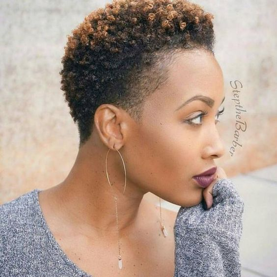 50 Natural Hairstyles For Black Women Over 50 Short Natural Hair Styles Short Black Natural Hairstyles Tapered Natural Hair