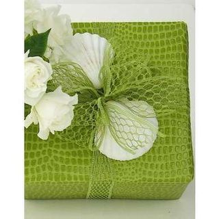 Gift Wrap CR Lime Green - Roehm