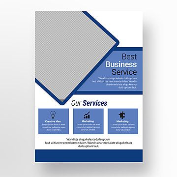 تصميم نشرة الأعمال In 2020 Flyer Design Company Letterhead Template Business Flyer