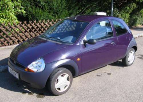 Ford Ka Aubergine Purple
