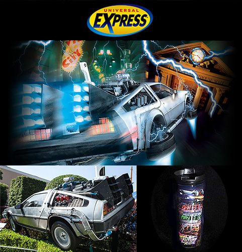 Back To The Future ® · The Ride Goodbye Special Express path sale: