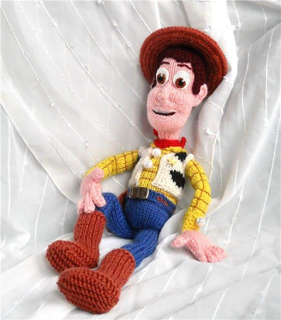 Knitted amigurumi doll : Knit woody wow don t think i m confident enough yet