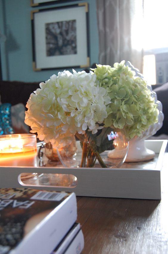 Faux Flower Arrangement