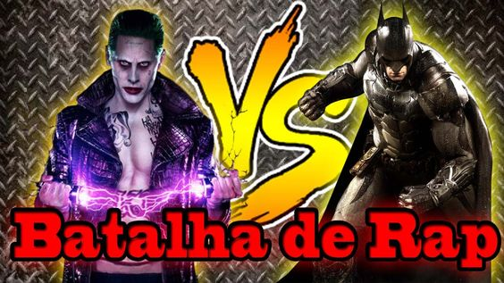 Batalha de Rap-Coringa VS Batman-Rap Battle-(esquadrão suicida)
