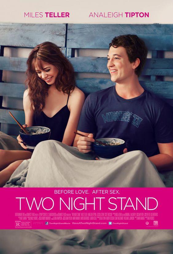 Two Night Stand est un film de Max Nichols avec Analeigh Tipton, Miles Teller. Synopsis : Un couple se retrouve pris au piège lors d'une tempête.