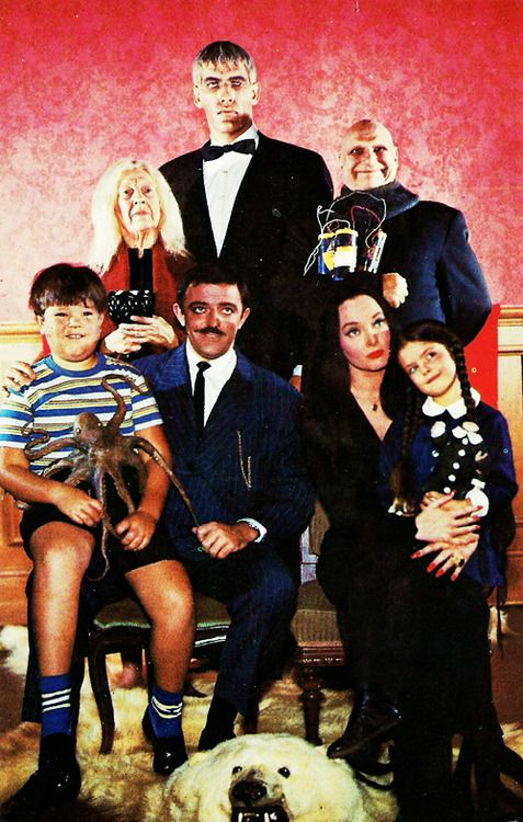 The addams family, Families and Charles addams on Pinterest