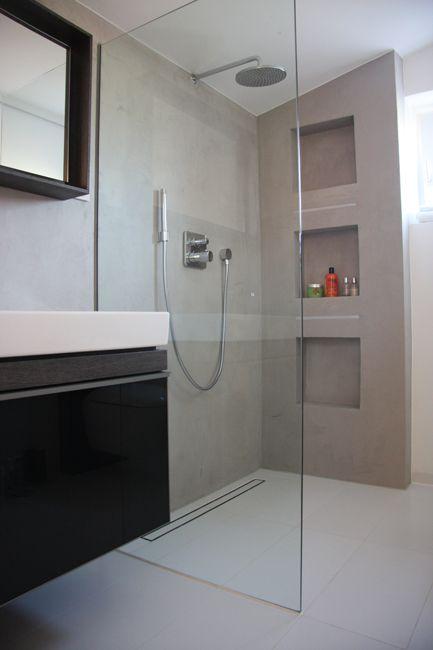 begehbare dusche mit duschwand aus glas für moderne, Hause ideen