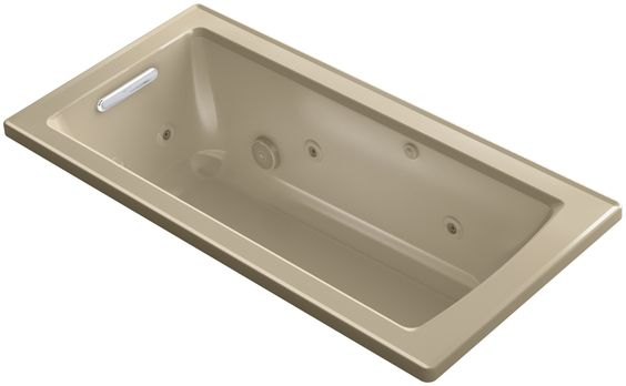 "Archer 60"" x 30"" Drop-In Whirlpool"