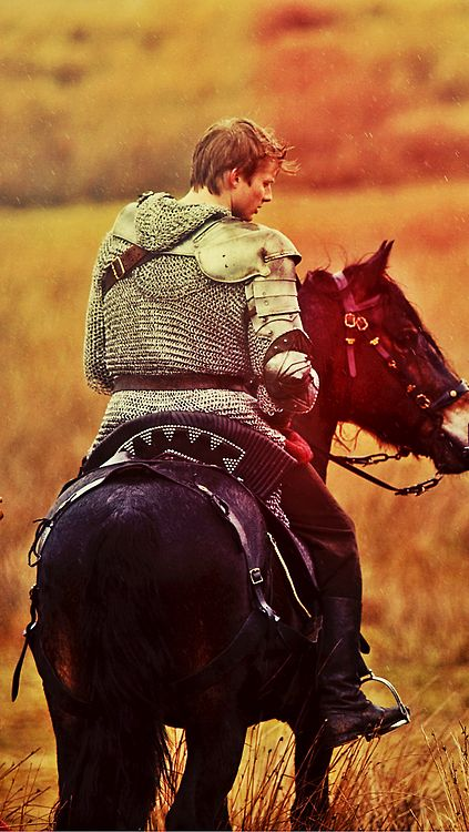 "Hugh rode away from the carnage of battle. Seeing Gwen in the distance kneeling over a wounded soldier, he cantered over and slid off. ""Lady Gwen, how can I be of assistance?"" She looked at him, her grey eyes laking emotion. ""Do you have any water? This man is thirsty."""