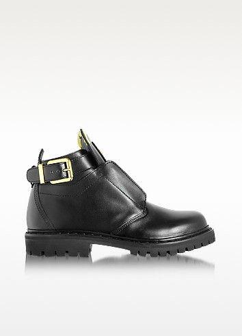 BALMAIN King Smooth Leather Low-Boot. #balmain #shoes #boots