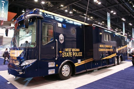 WV State Police Mobile Command Post.