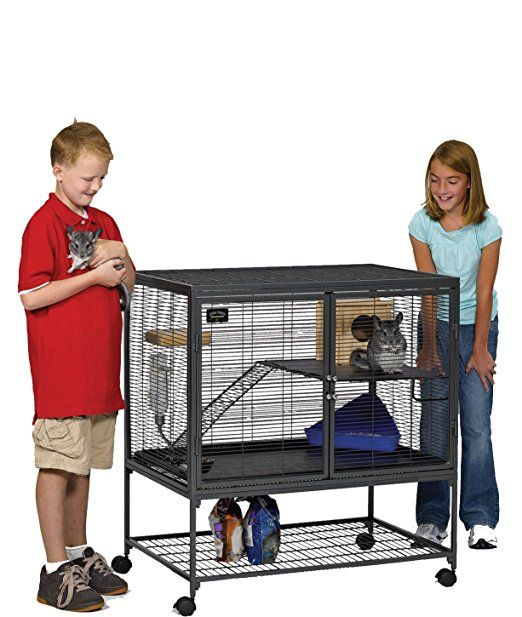 Midwest Deluxe Critter Nation Single Unit Small Animal Cage Model 161 Includes 1 Leak Proof Pans 1 Shelf 1 Ramps W R Small Animal Cage Small Pets Pet Cage
