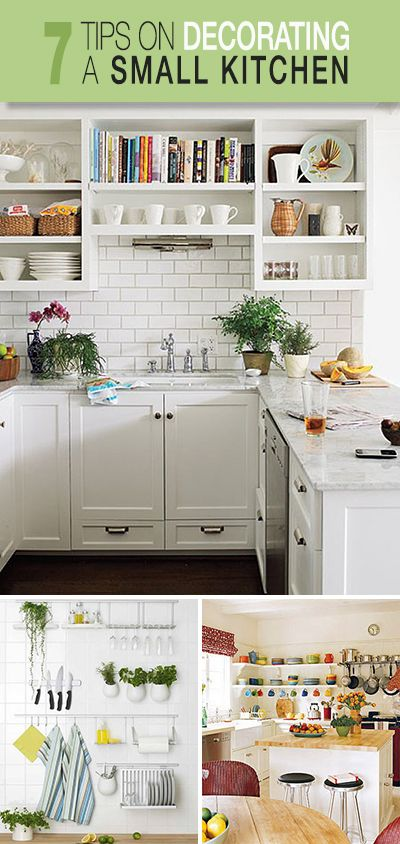 7 Tips on Decorating a Small Kitchen!