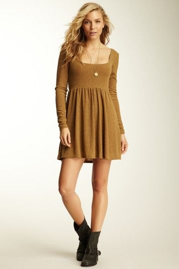 Free People Knit Day and Night Disco Dress
