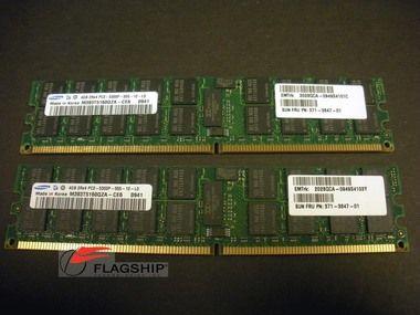 Sun X6322A 540-7600 8GB (2x 4GB) Memory Kit (371-3847) for X4140 X4240 X4440