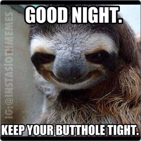 Goodnight Meme Funny Spanish : Butthole funny shit pinterest night good and lol