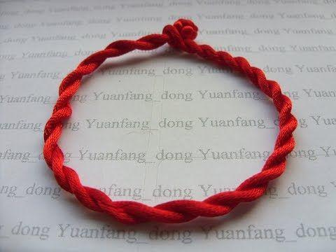 Good Luck Red Cord Bracelet