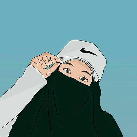Kumpulan Kartun Hijab Muslimah Cute Jutaan Gambar Kartun