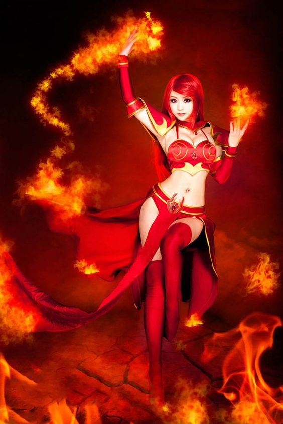 dota 2 cosplay fire and ice dota 2 news smiteferirevent 2p