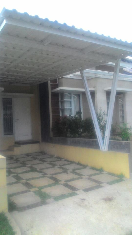 Kanopi Baja Ringan Tangerang Pemasangan Atap Alderon Di Bsd