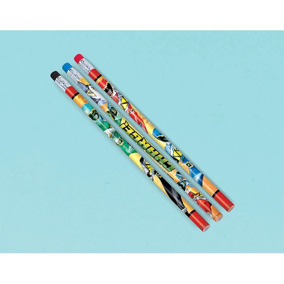 Power Rangers Dino Charge Pencils 12ct