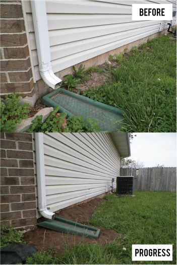 Fix water issues in your crawl space with grading your for Putting an addition on your house