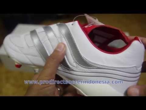 Sepatu Bola Adidas Predator Precision Fg White Silver Matte F97223