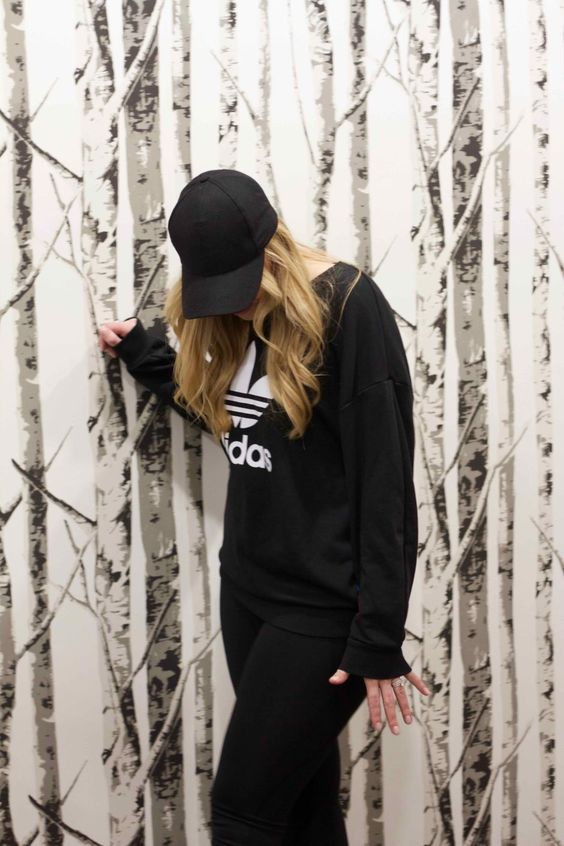 Workout Routine, how to wear a adidas sweatshirt