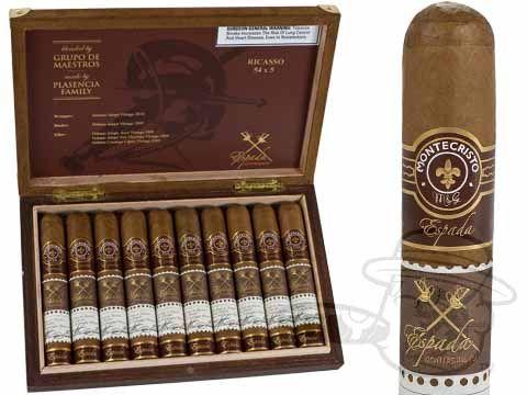 Espada Ricasso by Montecristo 5 x 54—Box of 10 - Best Cigar Prices