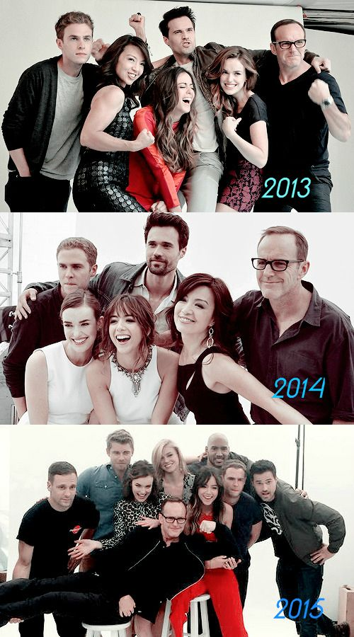 Clark looks the same, Elizabeth's hair keeps changing, Ming thinned down, and Iain is 100% done with this.