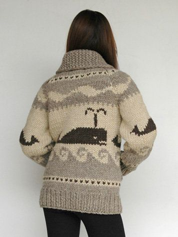 whale sweater from granted clothing.  currently unavailable.