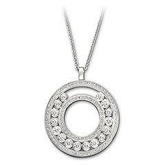 Lovely Crystals White Pendent