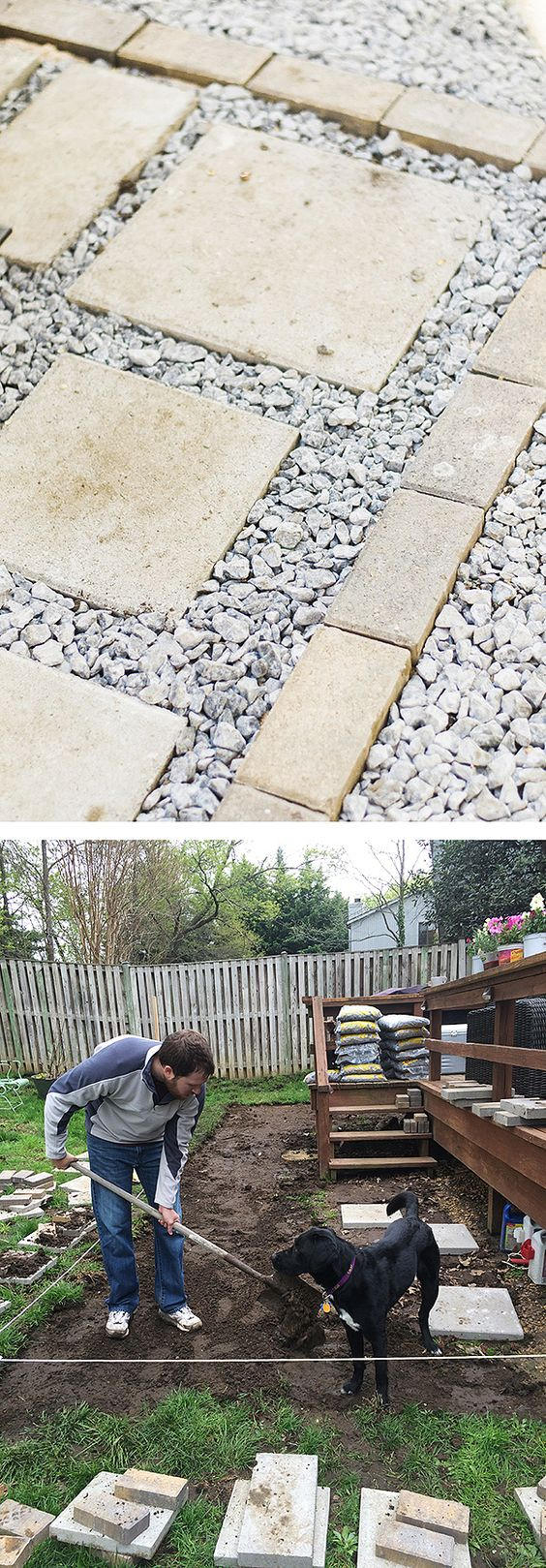 Build a paver patio for a backyard upgrade the home for Cost of outdoor living space