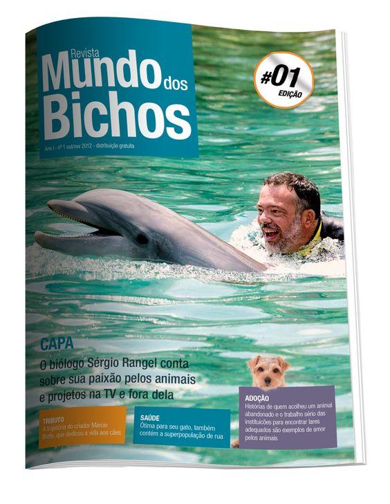 1 Edição Mundo dos Bichos