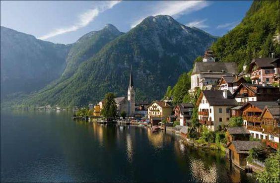 Pueblos, Hallstatt, la ciudad más bella de Austria