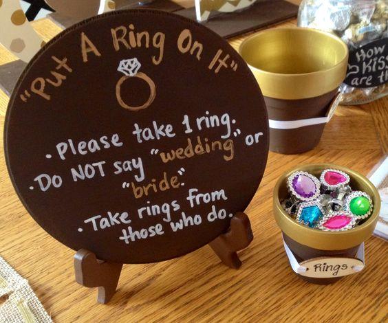 Fun Wedding Reception Ideas Activities: Gemstones, Engagement And Game