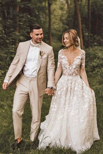 The Most Popular Groom Suits ★ groom suits jacket with bow tie rustic kreativwedding