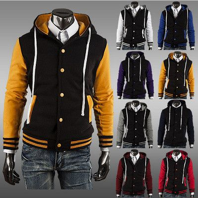 Hooded Baseball Jacket | Jackets Baseball and Products