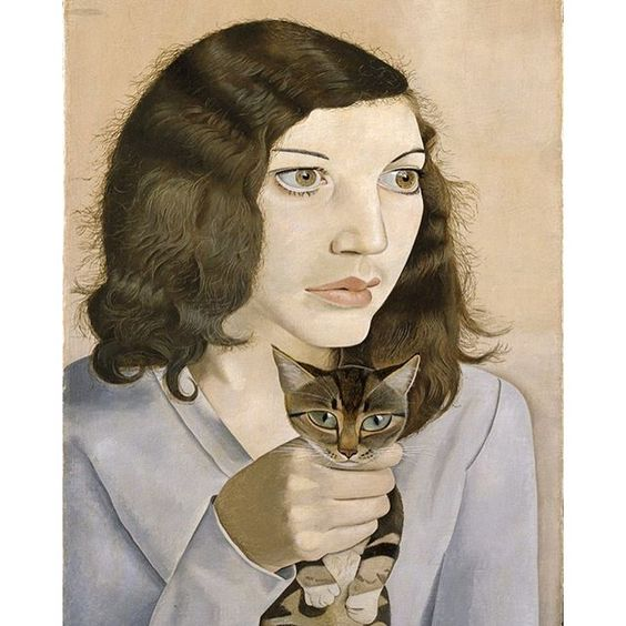 London Calling: Bacon, Freud, Kossoff, Andrews, Auerbach, Kitaj is on view at the Getty Center through November 13. Girl with a Kitten, 1947 Lucian Freud British, born Germany, 1922 – 2011 Oil on canvas 41 × 30.7 × 1.8 cm (16 1/8 × 12 1/16 × 11/16 in.) Tate: Bequeathed by Simon Sainsbury 2006, accessioned 2008 © Lucian Freud Archive / Bridgeman Copyright Service Photo © Tate, London 2016