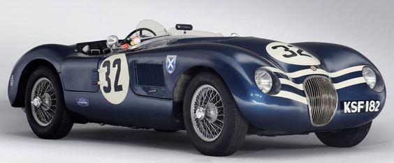 Ecurie Ecosse 1952 Jaguar C-Type