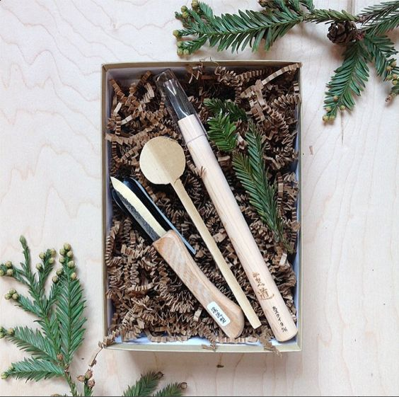 Image of Holiday Spoon Carving Kit
