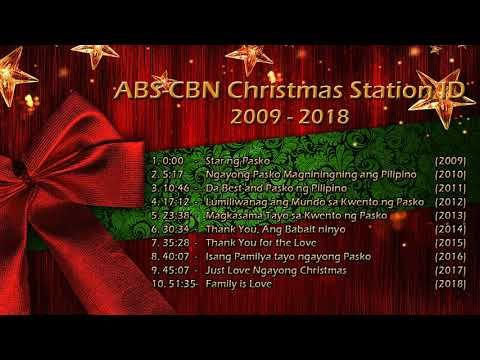 Abs Cbn Christmas Station Id Christmas Songs Non Stop Compilation 2009 2018 Youtube