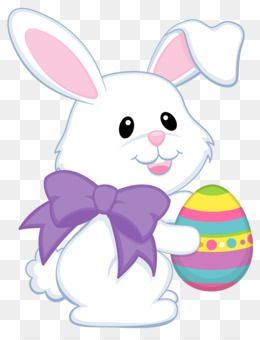 Easter Bunny Easter Egg Easter Basket Clip Art Easter Cute Bunny With Purple Bow Transparent Png Cli Easter Bunny Cartoon Easter Bunny Colouring Easter Bunny