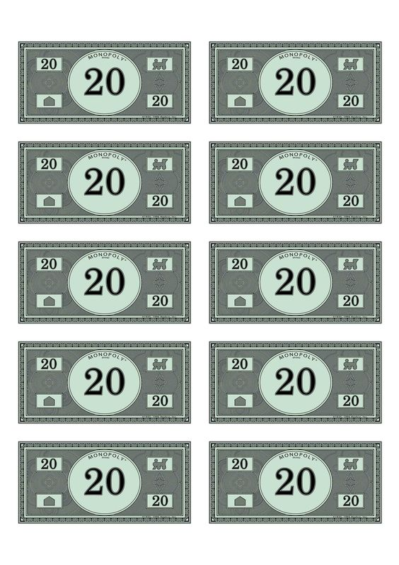 Monopoly and money on pinterest for Monopoly money templates