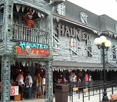 Kings Island Haunted House Ride
